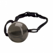 Кляп Japanese Silk Love Rope Ball Gag, Black photo 1