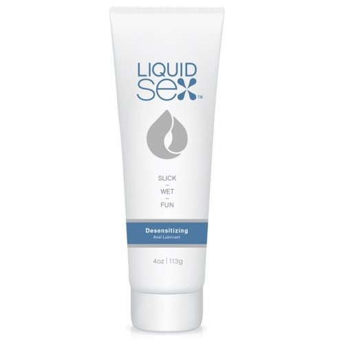 Wet lubricant for anal sex