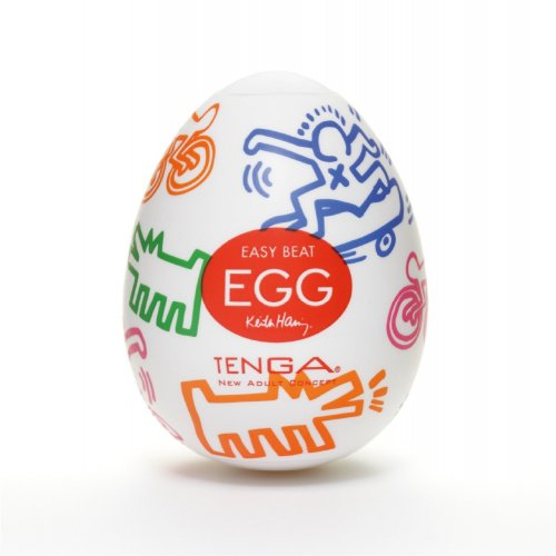 Мастурбатор Tenga Keith Haring EGG Street photo 1