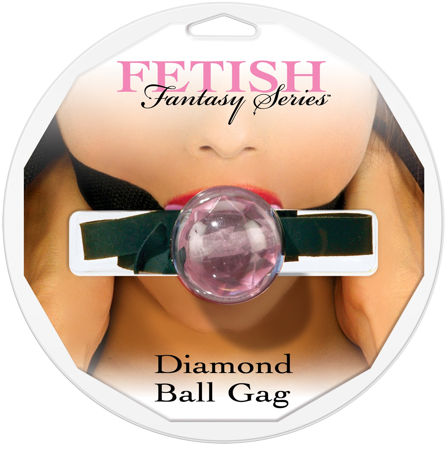Кляп DIAMOND BALL GAG PINK