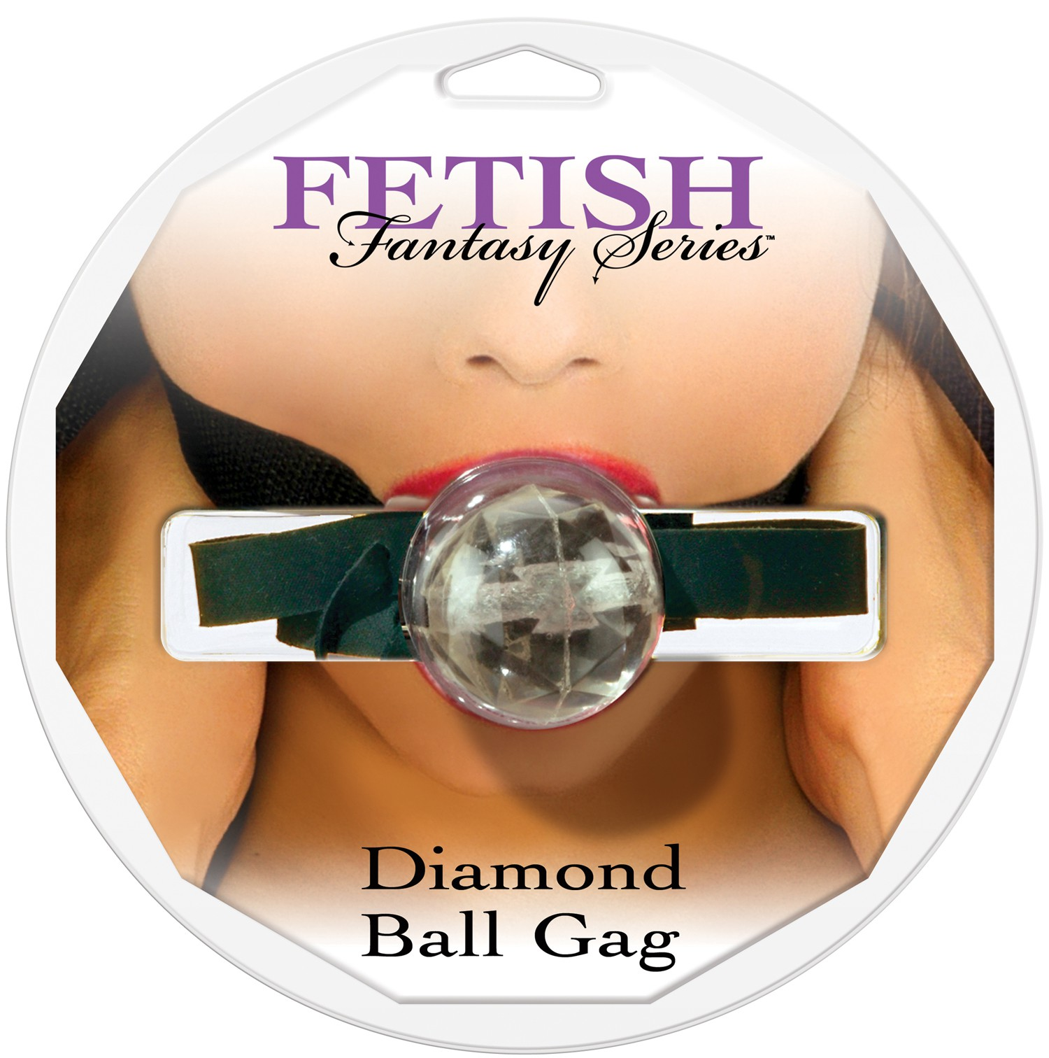 Кляп DIAMOND BALL GAG CLEAR