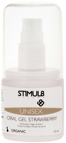 Лубрикант STIMUL8 ORAL GEL STRAWBERRY 30ML