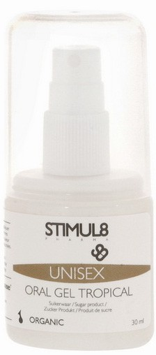 Лубрикант STIMUL8 ORAL GEL TROPICAL 30ML