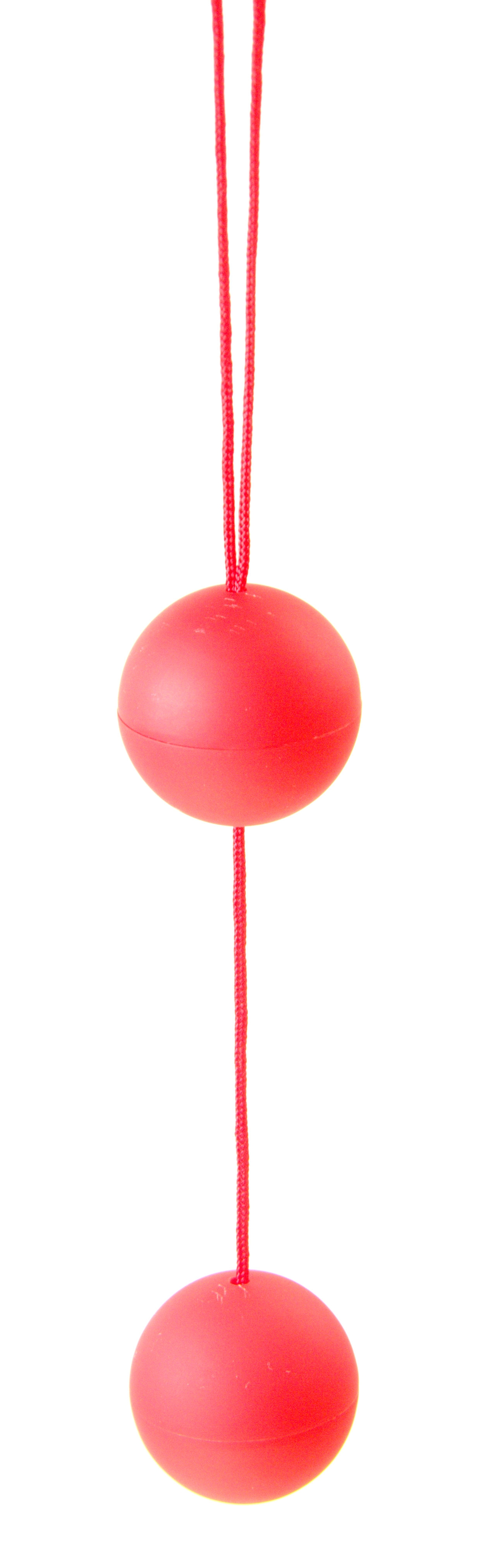 Вагинальные шарики JIGGLE LOVE BALLS RED