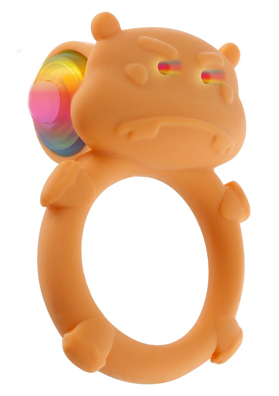 Эрекционное виброкольцо HAPPY HIPPO