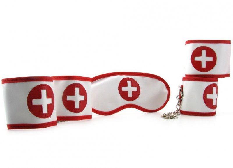 Бондажный набор Naughty Nurse Bondage Kit
