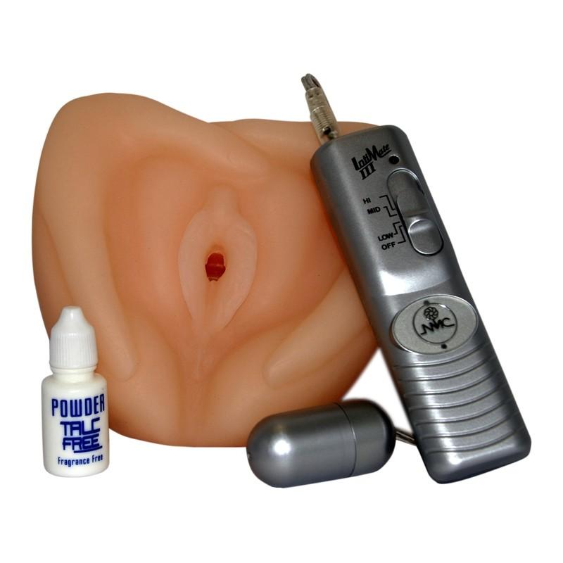 Искусственная вагина с вибрацией Kala's Pussy