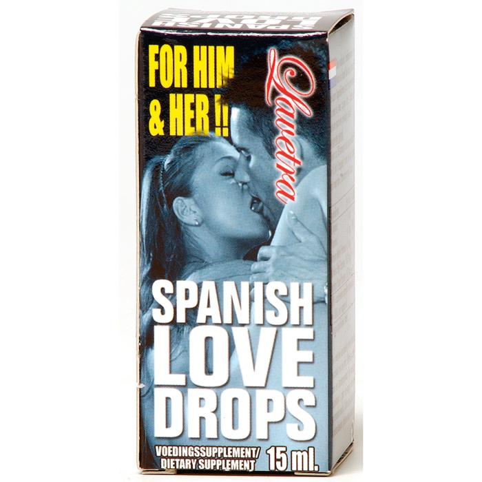 Капли возбуждающие SPANISH LOVE DROPS LAVETRA, 15 мл