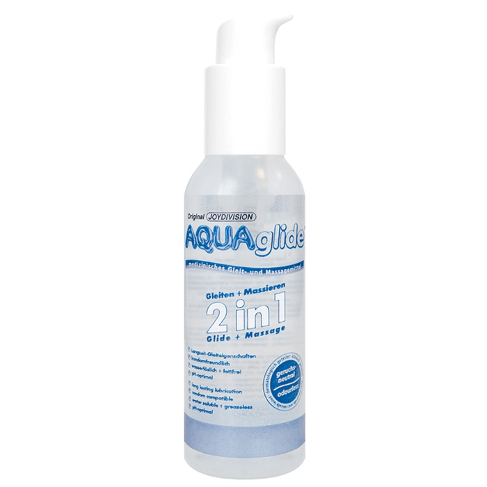 Вагинальная смазка Aquaglide Glide+Massage 2in1