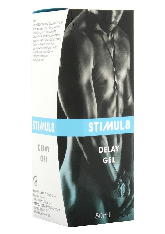 Гель-пролонгатор Stimul8 Delay Gel, 50 мл