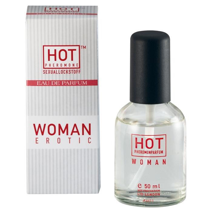 Женские духи с феромонами HOT WOMAN PHEROMON PARFUM 50 ML