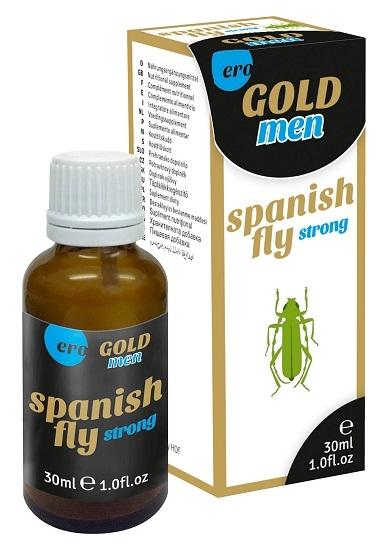 Капли для мужчин SPANISH FLY MEN GOLD STRONG, 30 мл