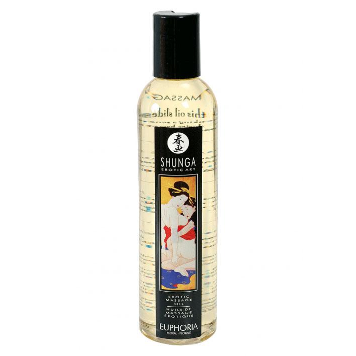 Массажное масло Shunga Massage Oil, эйфория