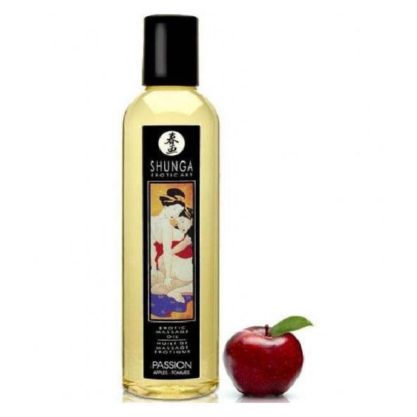 Массажное масло Shunga Massage Oil, страсть