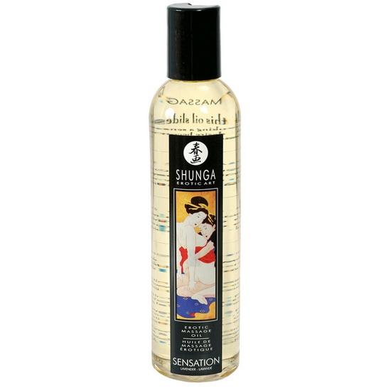 Массажное масло Shunga Massage Oil, чувственное