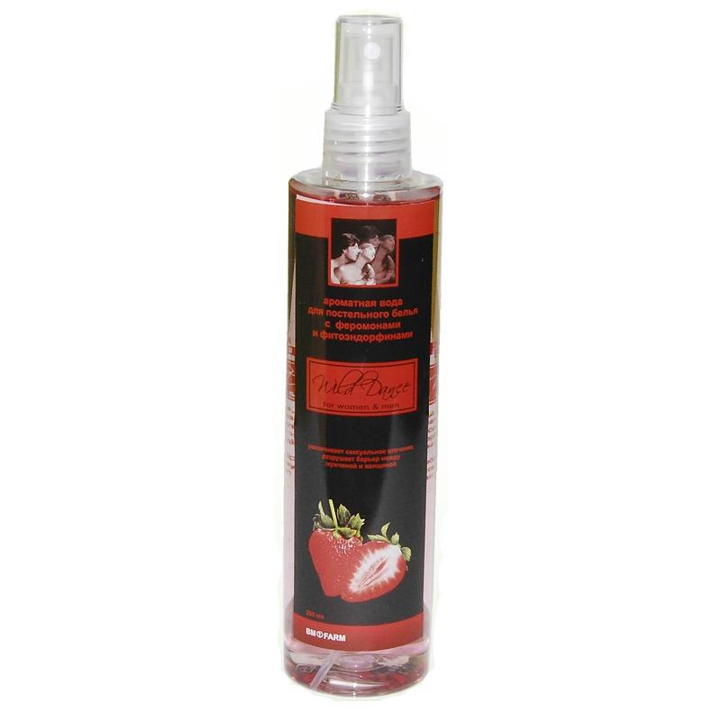 Арома вода для белья с ароматом клубники Wild Dance, 250 мл