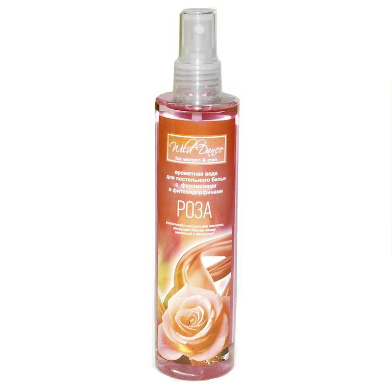 Арома вода для белья с ароматом розы Wild Dance, 250 мл