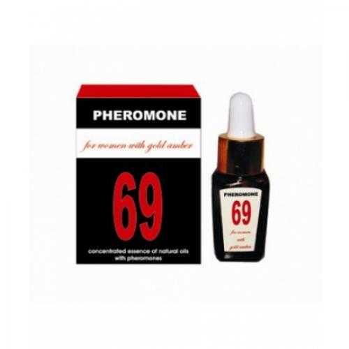 Эссенция с феромонами для женщин Pheromone 69, 10 мл