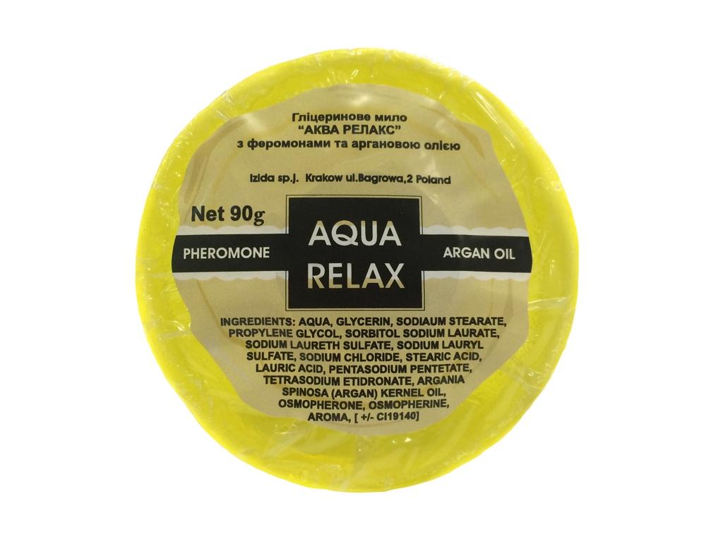 Мыло с феромонами Аква релакс Арган, 90 гр.