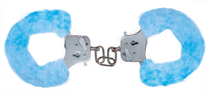 Наручники Furry Fun Cuffs, голубые