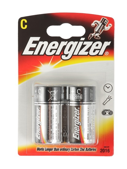 Батарейки Energizer С LR14, 1 шт