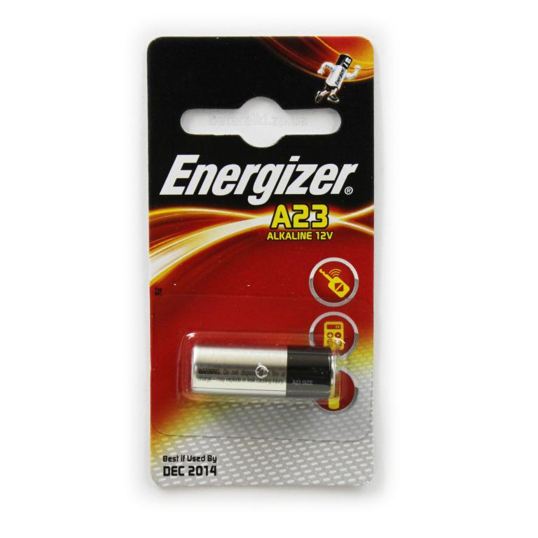 Батарейка Energizer Alkaline A23 / E23A, 1 шт.