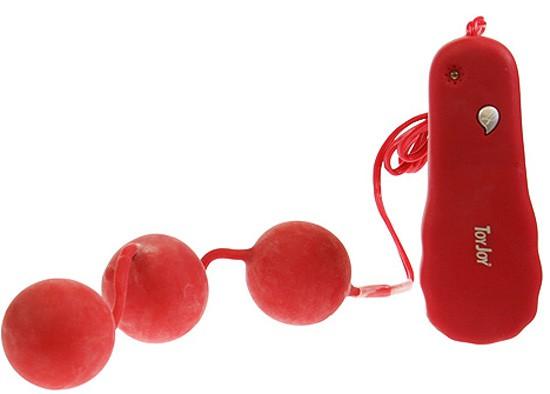 Вагинальные шарики POWER BALLS PUMPIN RED