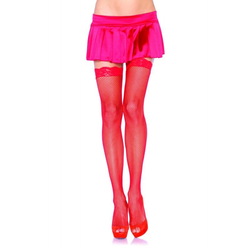 Чулочки Sheer Stockings, красные