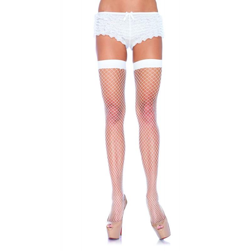 Классические чулки Leg Avenue, белые