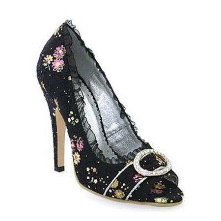 Туфли женские TORI черные, 39 размер