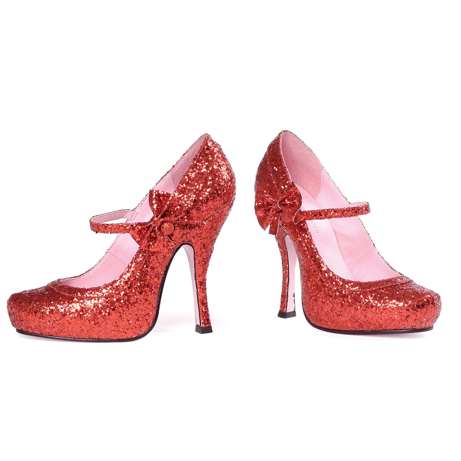 Туфли RUBY красные на высоком каблуке