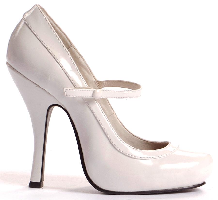 Туфли BABYDOLL WHITE на каблуке