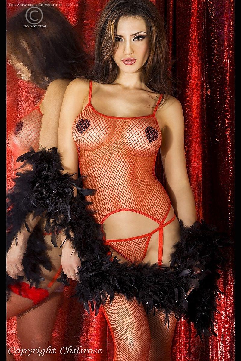 Комплект Complete Erotic, красный L/XL
