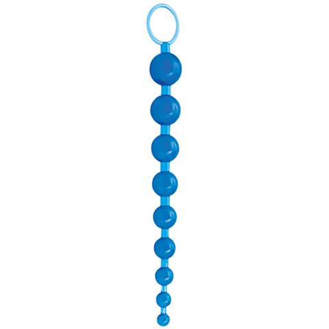 Анальные бусы Sex Please! Sexy Beads, Blue