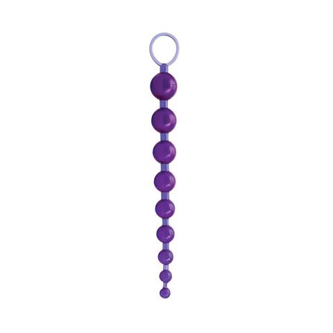 Анальные бусы Sex Please! Sexy Beads, Purple