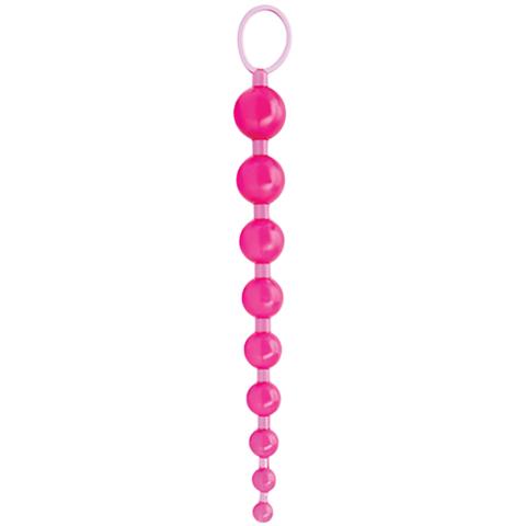 Анальные бусы Sex Please! Sexy Beads, Pink