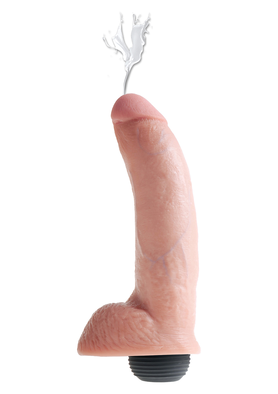 Фаллоимитатор с эякуляцией Kc 9 Inch Squirting Cock