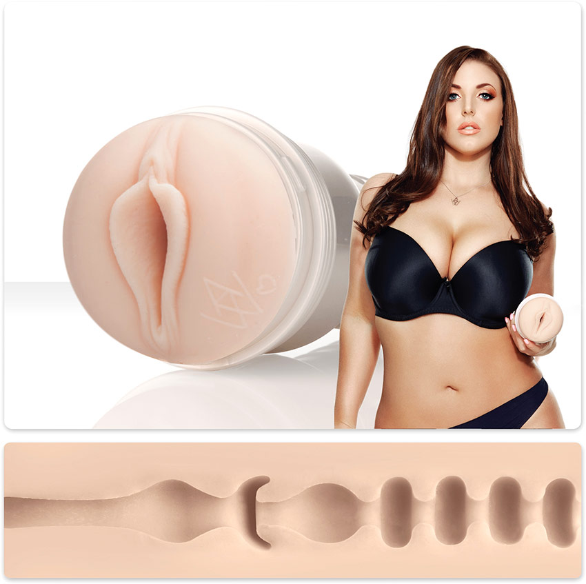 Мастурбатор Fleshlight Girls: Angela White Lotus