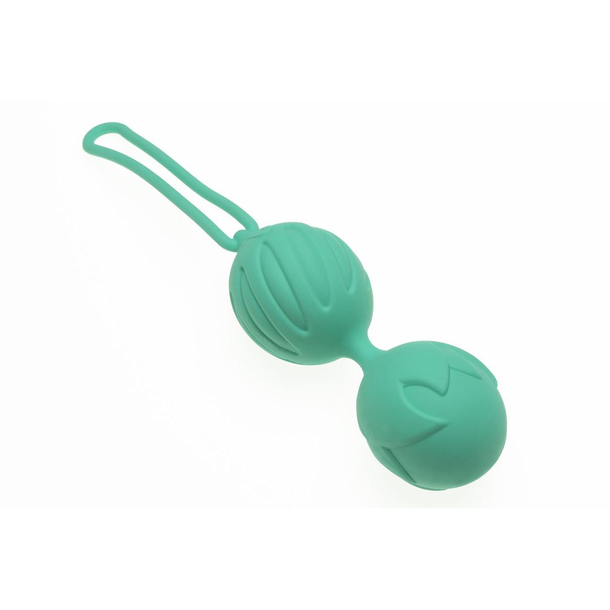 Вагинальные шарики Geisha Lastic Balls, голубой (S)