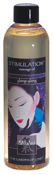 Массажное масло SHIATSU MASSAGE OIL YLANG-YLANG
