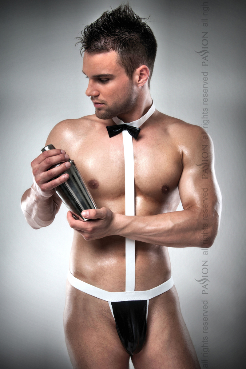Мужской эротический костюм-боди Passion 021 BODY, XXL/XXXL