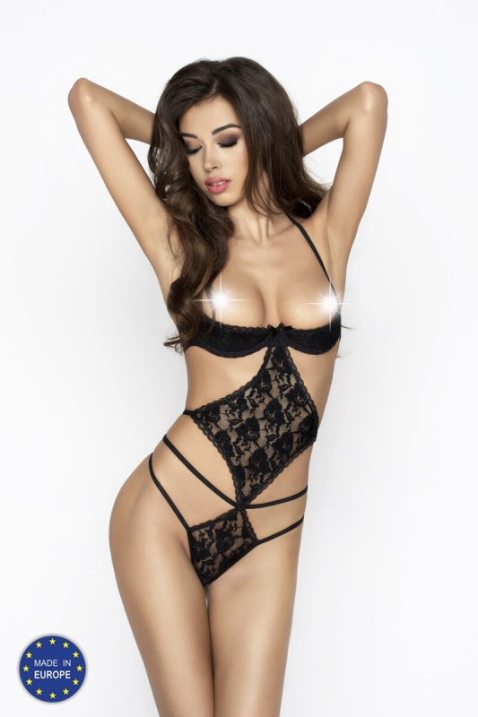 Монокини Passion Erotic Line ADARA BODY, черный, XXL/XXXL