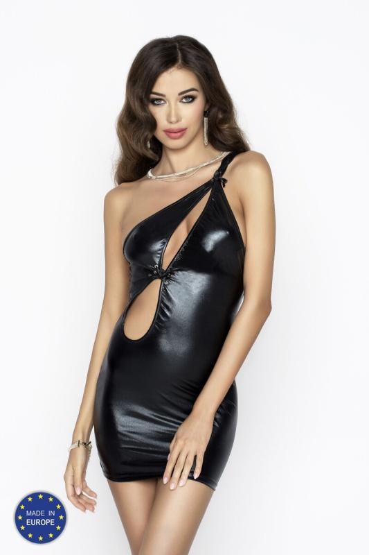 Вечернее эротическое платье Passion Erotic Line CORNELIA DRESS, черный, S/M