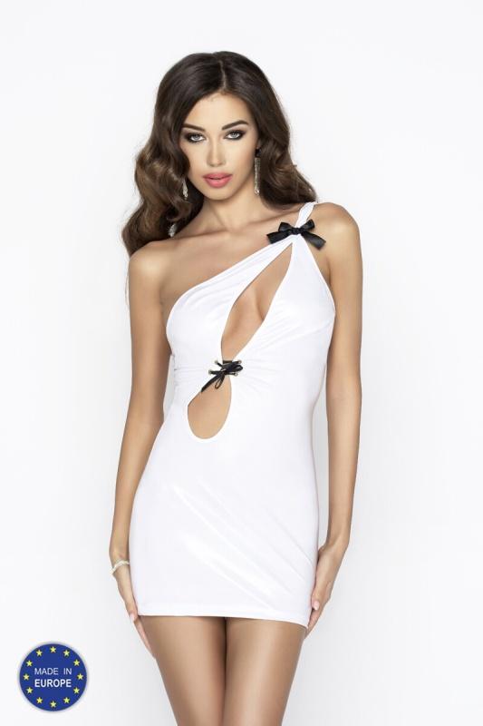 Сексуальное платье Passion Erotic Line CORNELIA DRESS, белый, L/XL