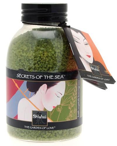 Соль для ванны SHIATSU BATH CRYSTAL LEMONGRASS