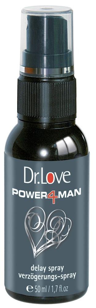 Спрей пролонгатор DR. LOVE POWER4MAN DELAY SPRAY