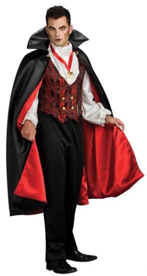 Костюм графа Дракулы из Трансильвании