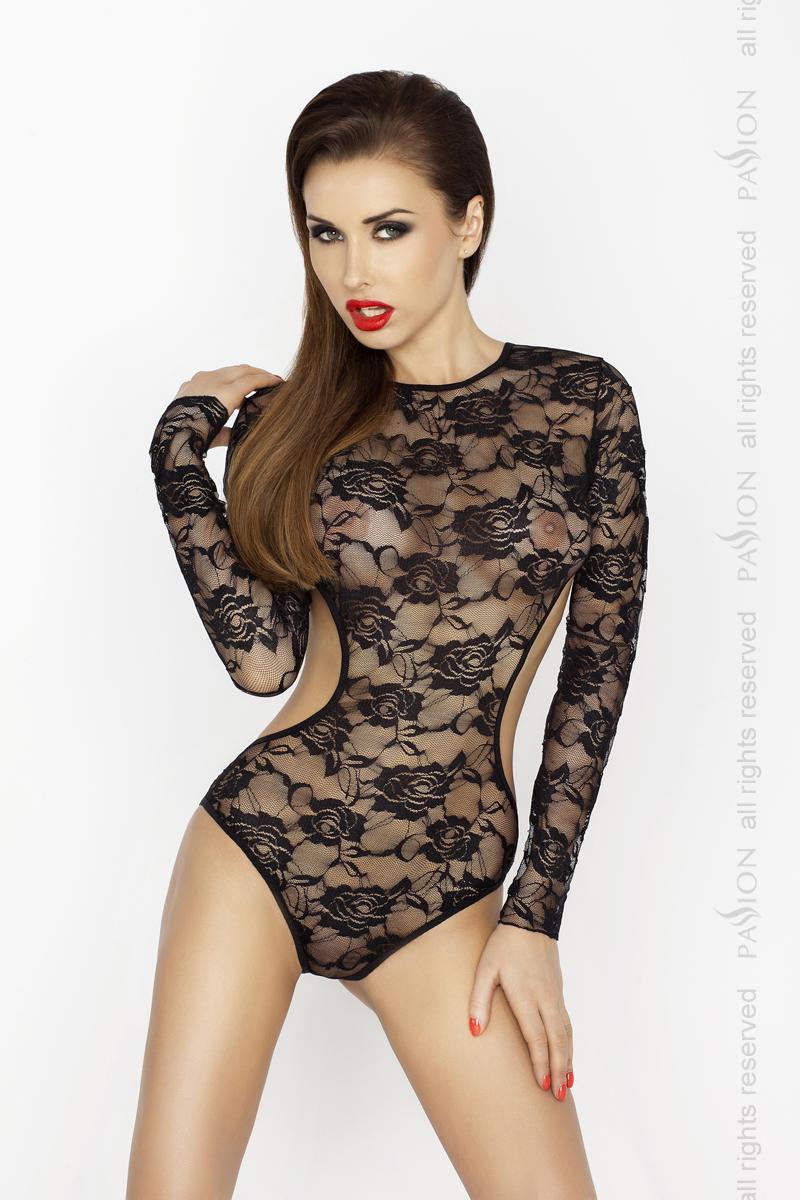 Боди Passion Erotic Line YOLANDA BODY, черный, XXL/XXXL