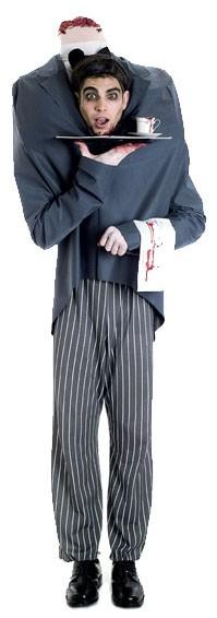 Костюм обезглавленного официанта HEADLESS BUTLER