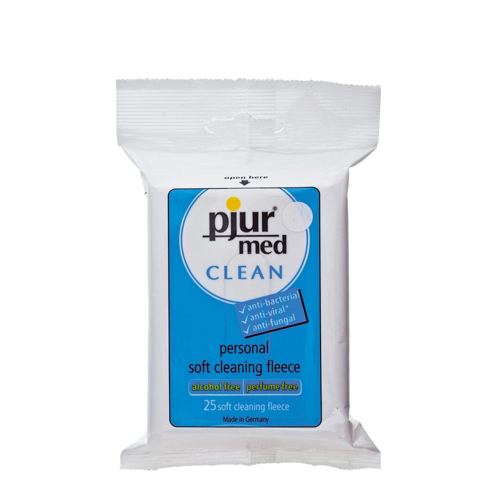 Влажные салфетки Pjur Med CLEAN, 25 штук